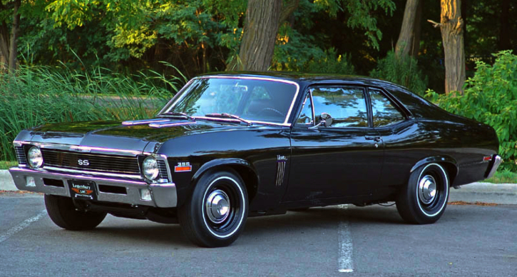 L89 optioned 1970 chevy nova ss