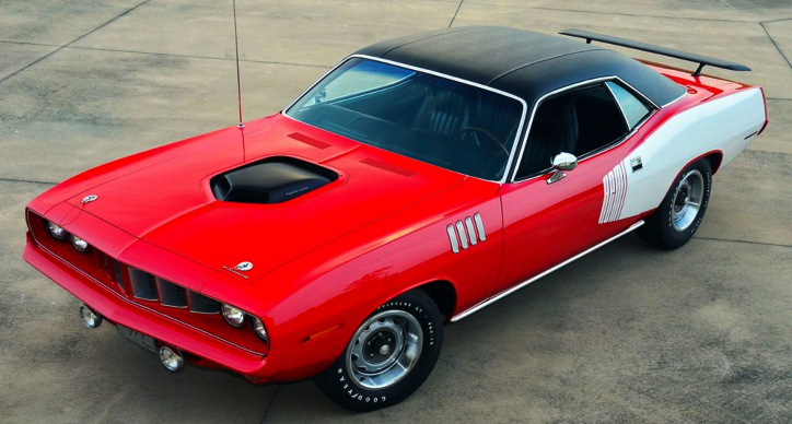one of one 1971 plymouth cuda 4 speed