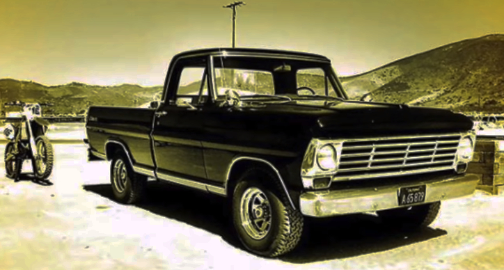 coyote swapped ford f100 truck