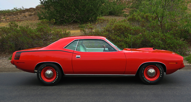 best plymouth cuda year of production
