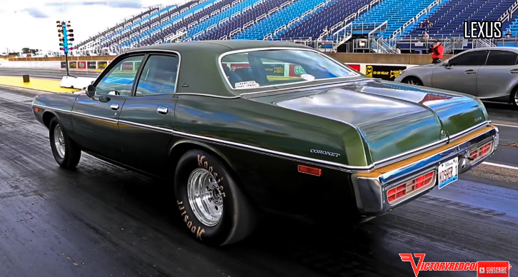 1973 dodge coronet 383 drag racing
