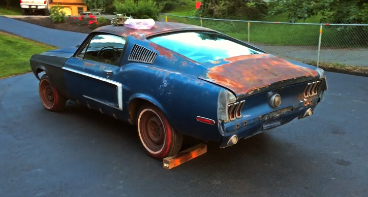 real 428 cobra jet 1968.5 ford mustang