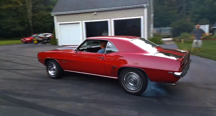 1969 camaro loud exhaust