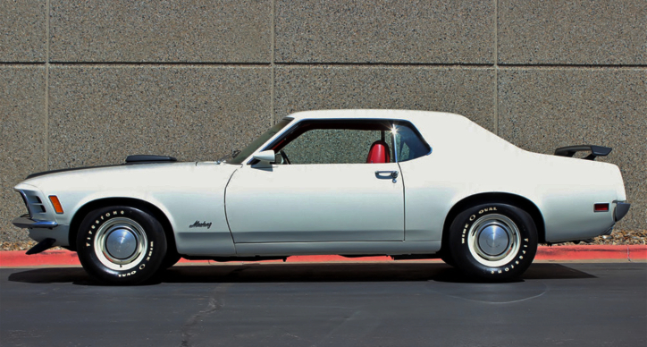 1970 mustang coupe 351 4-speed