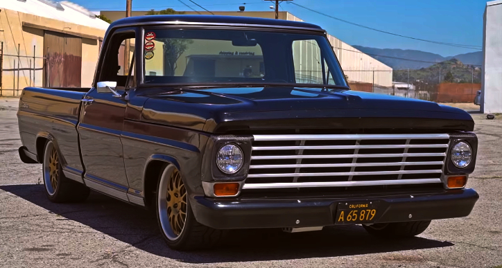 coyote 1967 ford f100 build