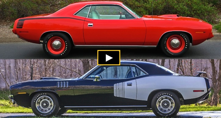 1970 or 1971 plymouth cuda is better