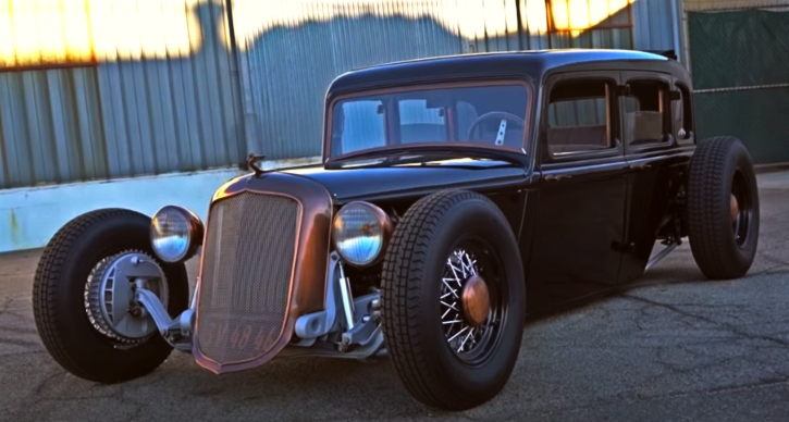 custom built 1933 plymouth