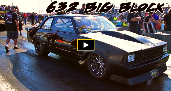 632 big block chevy malibu drag racing