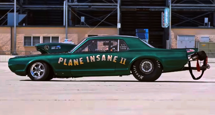 1967 cougar plane insane II