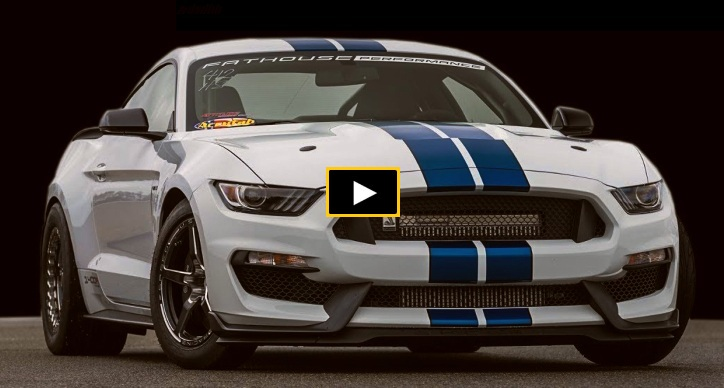 modified mustang gt350 dyno video