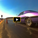 1973 dodge charger se drag racing