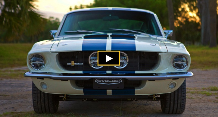 brand new 1967 shelby gt350 mustang
