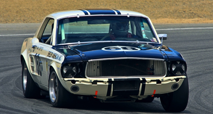 real 1967 shelby coupe group 2 race car