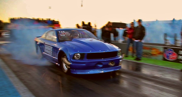 small block s197 mustang drag racing