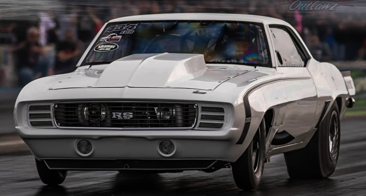 paul gargus 1969 camaro drag racing