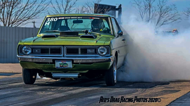 dodge dart swinger drag car