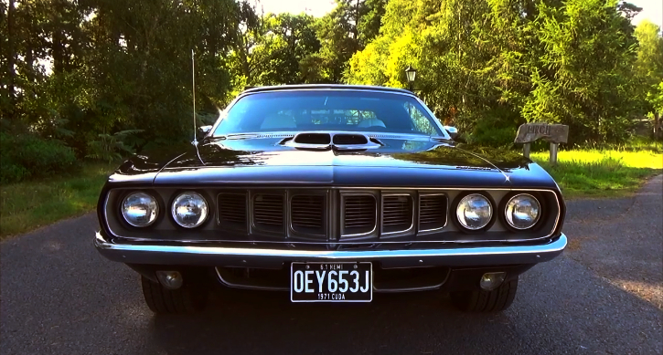 custom built 1971 plymouth cuda convertible