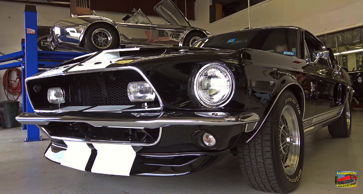 1968 mustang shelby gt500kr up close