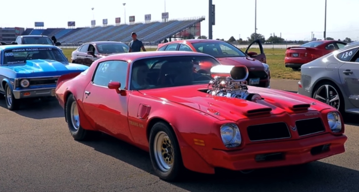 big block 1976 pontiac trans am