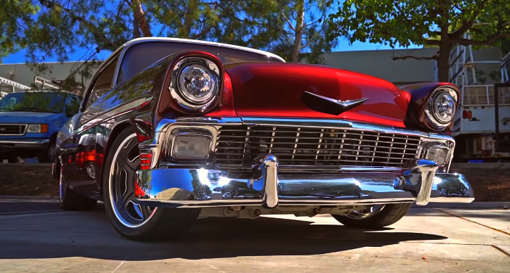 1956 chevy bel air ls3 build
