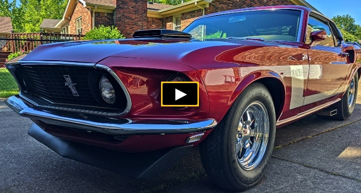 Story of Steve Stout's 1969 Mustang Mach 1 Build