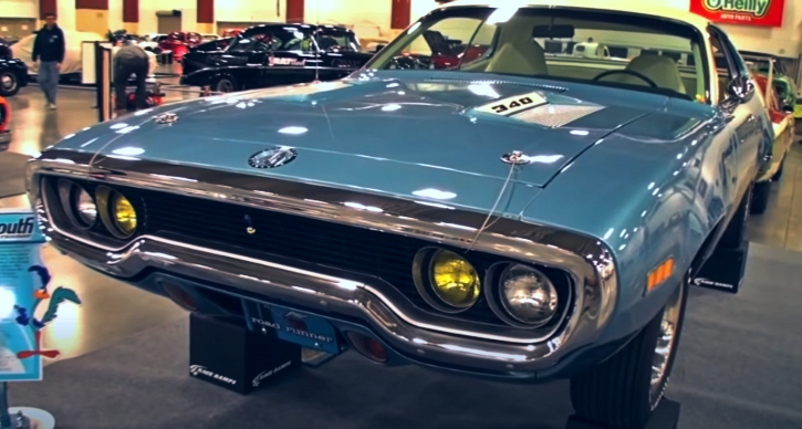 rare 1971 plymouth road runner 340 4-speed