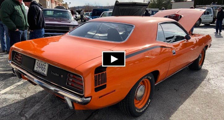 1970 plymouth hemi cuda video