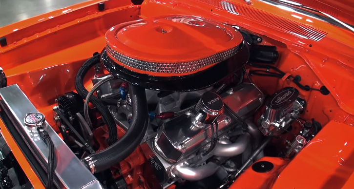 orange 1973 plymouth duster build