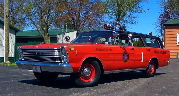 fire chief 1966 ford country wagon
