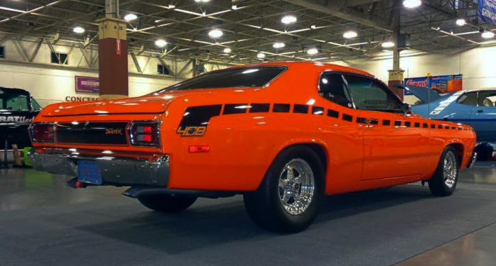 1973 plymouth duster 408 stroker