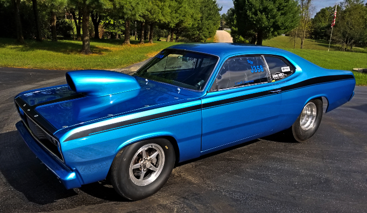 carl james 1972 plymouth duster