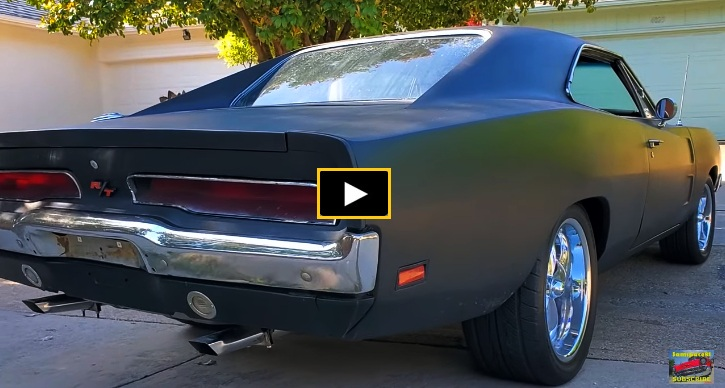 1969 dodge charger r/t 440 video