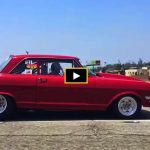 10 second chevy II nova street car