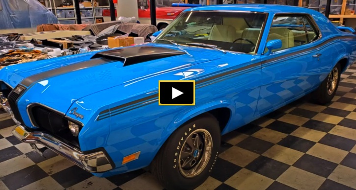 boss 302 mercury cougar restoration
