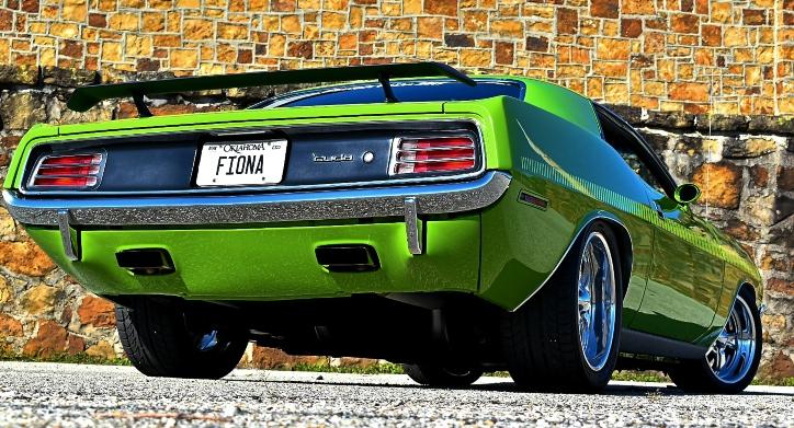 plymouth cuda fiona build