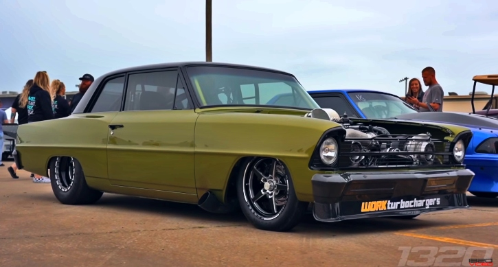 twin turbo 1966 chevy nova