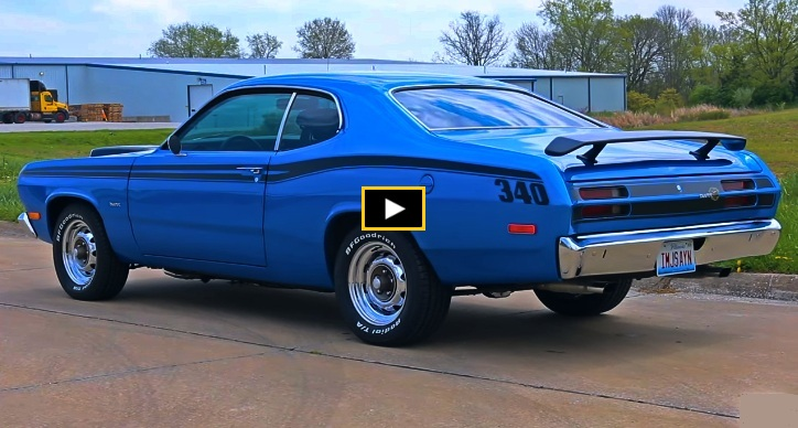 1974 plymouth duster restomod