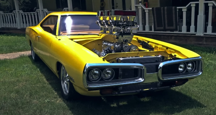 blown big block 1970 dodge super bee
