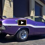 convertible 1970 dodge challenger 383 4-speed
