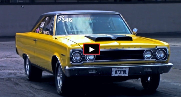 plymouth satellite 1/4 mile race