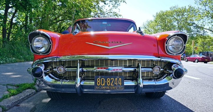 1957 chevy bel air 350 small block
