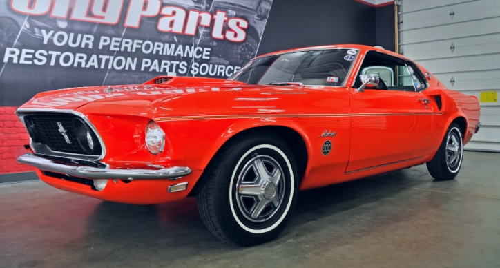 restored 1969 ford mustang 600