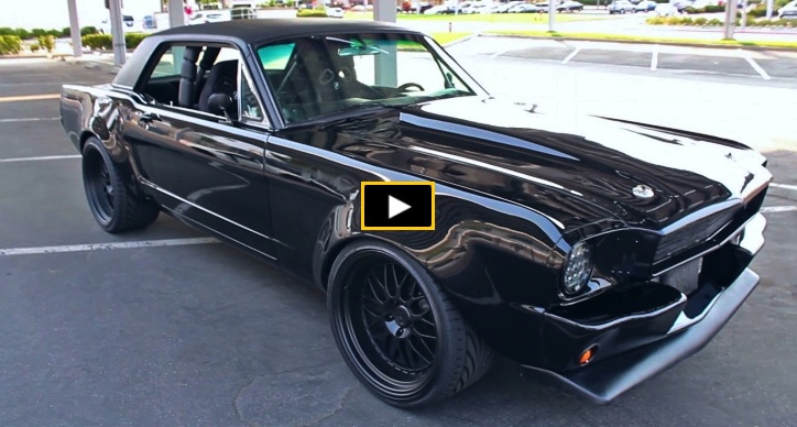widebody 1966 ford mustang build