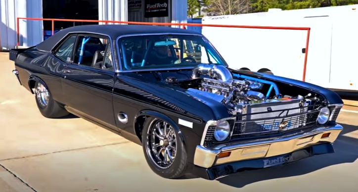 1968 chevy kingpin nova build