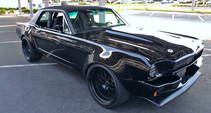 1966 ford mustang 347 stroker build