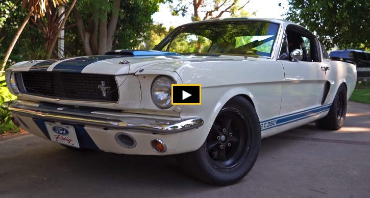 1966 shelby gt350 build