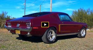 1968 mustang 428 cobra jet 4-speed