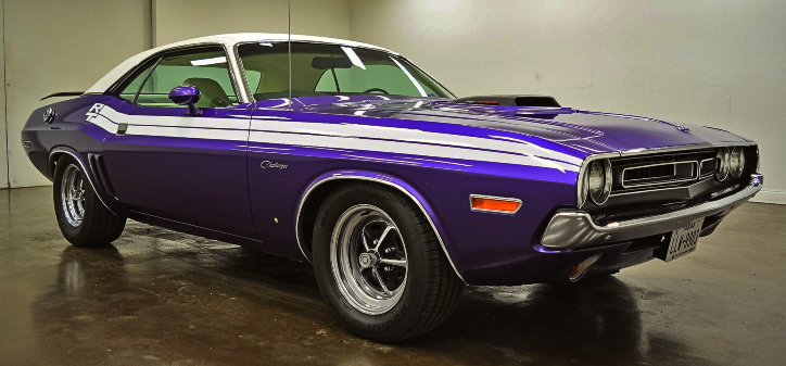 plum crazy purple dodge challenger r/t
