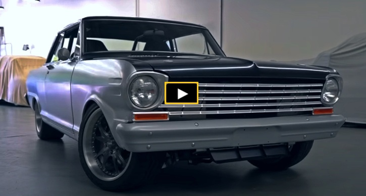procharged 1963 chevy II nova restomod
