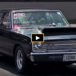 10 second dodge dart drag racing